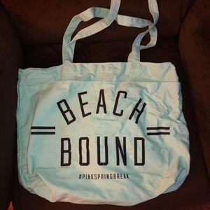 """Beach Bound"" PINK VS tote"
